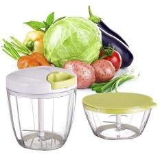 Sales New Goodshopping2015 Mini 2 In 1 Pull String Chopper Manual Food Processor Vegetable Fruit Garlic Herb Slicer Intl Discount Code