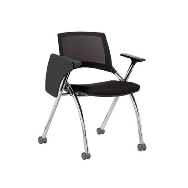 Sapphire II Training Student Mesh Chair with Tablet (Castors) Singapore