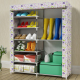 Price Cloth Multi Layer Dustproof Shoe Cabinet Simple Shoe Cabinet Oem