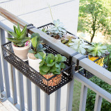 European Style Iron Over The Railing Flower Rack Coupon Code