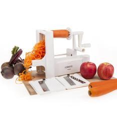 Latest Savisto Tri Blade Vegetable Spiralizer Slicer With 3 Interchangeable Stainless Steel Blades