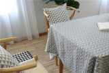 Low Cost Scandinavian Minimalist Garden Style Linen Coffee Hall Restaurant Cover Towel Dining Table Cloth