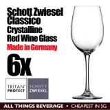 Best Deal Schott Zwiesel Classico Red Wine Glasses Glass 6X With Box Cheapest In Sg