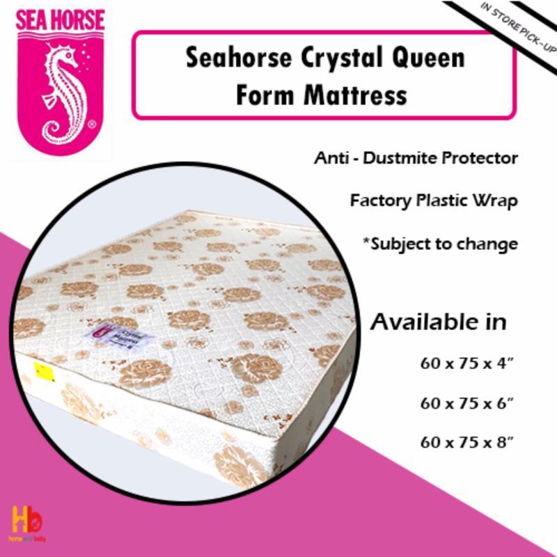 Seahorse Crystal Queen Foam Mattress 60 x 75 x 6