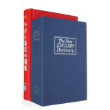 Secret Dictionary Book Cash Money Jewelry Safe Storage Box Security Key Lock Blue Intl Discount Code
