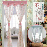 Price Comparisons Of Pastoral Cloth Rod Curtain