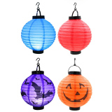 Set Of 4 Chinese Lantern With Led Light Deal