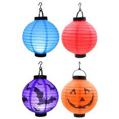 Set Of 4 Chinese Lantern With Led Light Shopping
