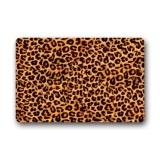 Latest S*xy Leopard Pattern Home Door Mats Durable Coral Velvet Doormat Indoor Outdoor Non Slip Carpet Floor Mat Intl