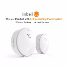 Compare Prices For Sg Version 3 Pin Plug Linbell G2 Self Powered Batteryless Wireless Doorbell Distance Up To 100M