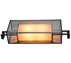 Review Shifan American Modern Led Wall Lamp For Hotel Villa Hallway Stairway Wrought Iron W1850 Warm Light 2800 3200K China