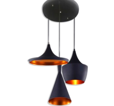 Price Comparisons Of Shifan Creative Musical Instruments Abc Pendant Lights Black With 3Pcs E27 Light Bulb 3515 Lamp White Light 6000 6500K Living Room Restaurant Fashion Indoor Lighting