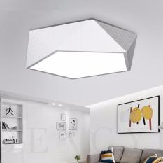 Buying Shifan Led Ceiling Light 72Cm 50W White Light White Black Creative Geometry Lamps Restaurant Bedroom Led Oyster Lights D4 0897 Intl