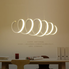 Shifan LED Pendant Light Outer Glow 70*20CM 58W Warm Light SX3303 Creative Modern Minimalist Ceiling lighting Singapore