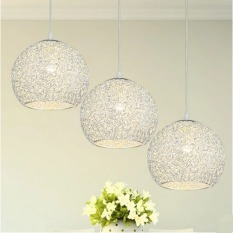 Price Compare Shifan Led Pendant Light Three Heads Warm Light With E27 Light Blub Creative Ceiling Fixtures 86 Yc1012