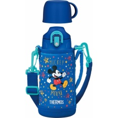 【Ship From Japan】 Thermos Vacuum Insulation 2 Way Bottle Disney Mickey 63 L 6 L Blue Star Fho 600 Wfds Intl Cheap