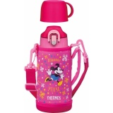 Get Cheap 【Ship From Japan】 Thermos Vacuum Insulation 2 Way Bottle Disney Minnie 63 L 6 L Pink Flower Fho 600 Wfds Pfl Intl