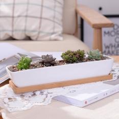 Who Sells The Cheapest Ship Shape Geometry White Ceramic Flowerpot Minimalist Succulent Plant Pot Bonsai Planter Porcelain Flower Pot Intl Online