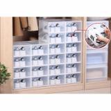 Shoe Storage Box Set Of 5 Premium Quality Hard Plastic Drop Front Discount Code