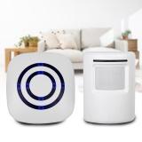 Best Reviews Of Shop Secure Alert Motion Sensor Wireless Home Welcome Sensor Doorbell Eu Plug Intl