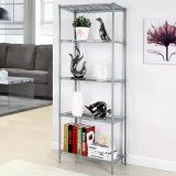 Shoppy 5 Tier Adjustable Storage Rack Silver Promo Code