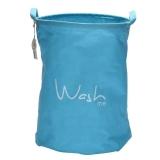 Shoppy Super Big Laundry Storage Bag Basket Wash Me Blue Deal