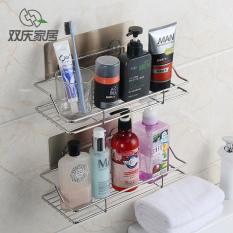 Best Price Shuangqing Wall Hangers Kitchen Seasoning Bottle Storage Rack Suction Cup Shelf