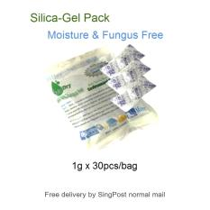Silica Gel packs keeps Moisture and Fungus free