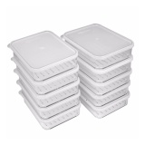 Get The Best Price For Silicook Korean Best Selling 10 Pieces Of Subdivision Flat Food Containers For Storage In Refrigerator Fridge Set Intl