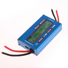 Purchase Simple Dc Power Analyser Watt Volt Amp Meter 12V 24V Solar Wind Analyzer