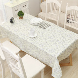 Best Simple Pvc Heat Resistant Rectangular Table Cloth Waterproof Tablecloth