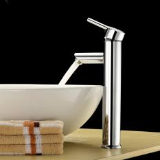 How To Buy Tall Body Bathroom Sink Faucet Solid Brass Basin Mixer Tap Single Handle Single Hole Chrome Finish Lavatory Faucet