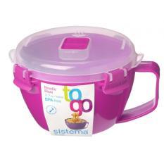Get Cheap Sistema Noodle Bowl 940Ml Pink