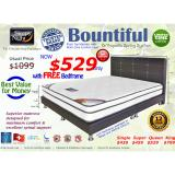 Who Sells Sleepy Night Bountiful Queen Free Bedframe The Cheapest