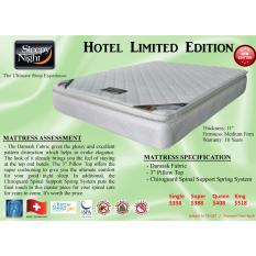 Sleepy Night Hotel Limited Edition Mattress with Pillow Top (Single)