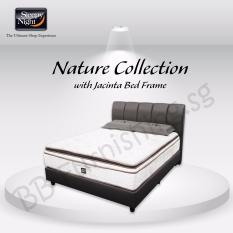 Sleepy Night (Single) Nature Collection Mattress with Jacinta Bedframe