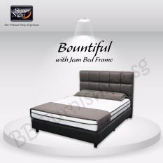 Sleepy Night Super Single Bountiful Mattress With Jean Bedframe For Sale Online