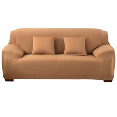Price Slipcover Stretchable Pure Color Sofa Cushion Cover Loveseat Camel Intl On Hong Kong Sar China