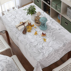 Review Modern Simple Tablecloth Fabric Oem On China