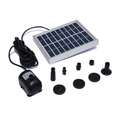 Small Type Landscape Pool Garden Fountains 9v 2w Solar Power Decorative Fountain Water Pump By Tomnet.