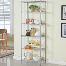 Great Deal Small Us Xm228 Metal Living Room Debris Six Kitchen Shelf Storage Rack