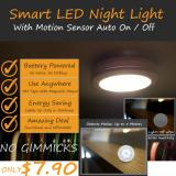 List Price Smart Motion Sensor Led Light Round Oem