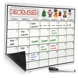 Smart Planner Kitchen Refrigerator Monthly Daily Schedule Sticker Dry Erase Flexible Magnetic Whiteboard Menu Board Message Board Memo Pad Dialog Box Magnet Intl Coupon Code