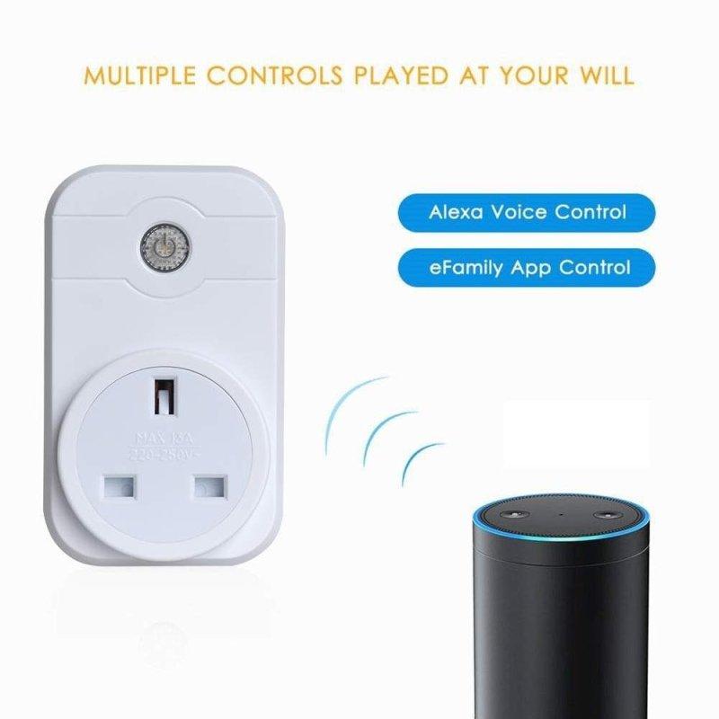 Smart WiFi Phones APP Remote Control Timer Switch Power Socket Outlet SW1 Socket - intl