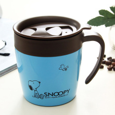 The Cheapest Snoopy With Handle With Lid Spoon Mug Insulated Cups Online