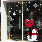 Buying Snow Christmas Window Glass Decorative Adhesive Paper Wall Stickers
