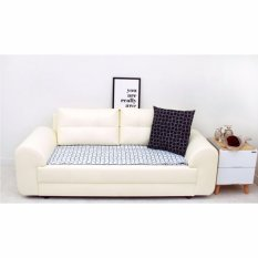 SOFA Pads Modern Style 55 x 160cm - Sofa Seat Pad Mat - Style Curve (White) - intl