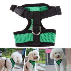 Soft Mesh Dog Harness Pet Puppy Cat Clothing Vest Green S By Sportschannel.