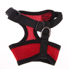 Soft Mesh Dog Harness Pet Puppy Cat Clothing Vest Red M By Sportschannel.