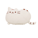 Soft Plush Cute Cat Shape Pillow Cushion Bolster Sofa Toy White Lower Price
